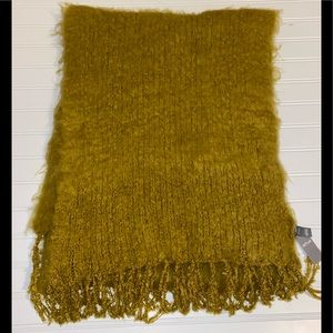 Women's Mustard Color Scarf/Wrap ~ NWT